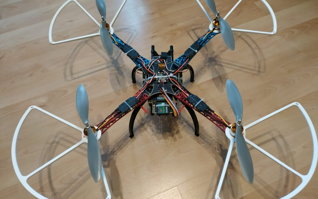 Quadrocopter – Summbrummsel – Phase 1