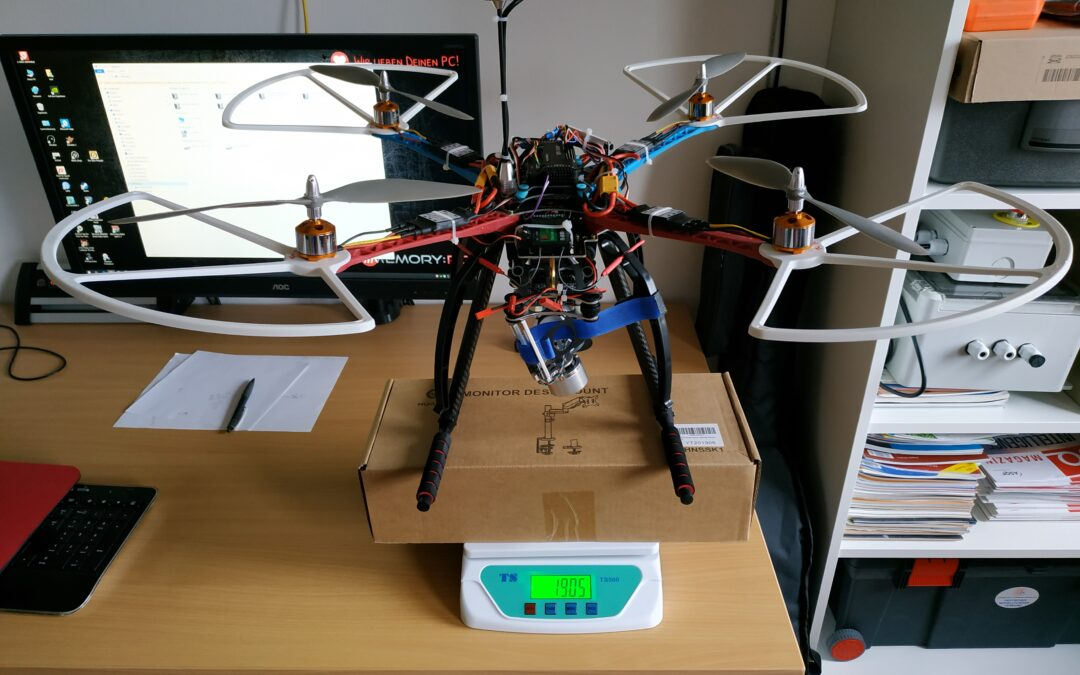 Quadrocopter – Summbrummsel – Phase 2