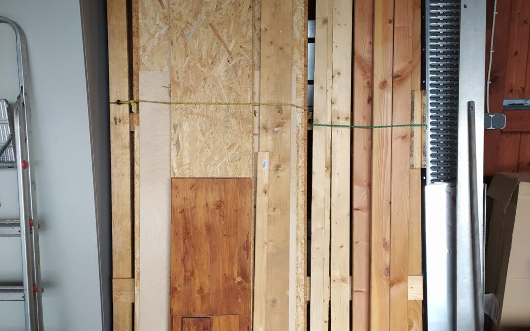 Mobiles (Alt-)Holzlager