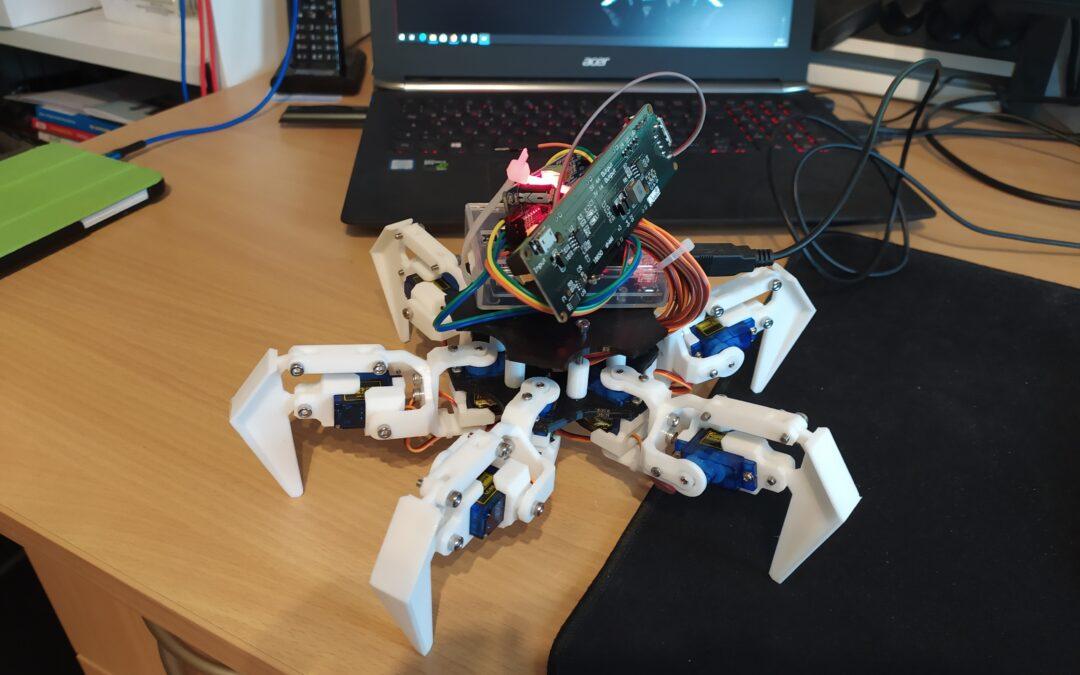 Hexapod – Roboter mit Schüttellähmung